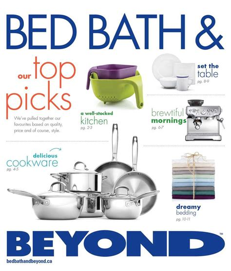 bed bath and beyond august circular canada