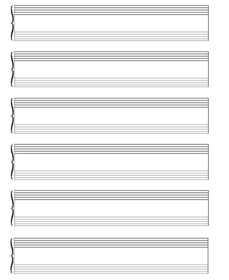 song writing paper blank sheet paper