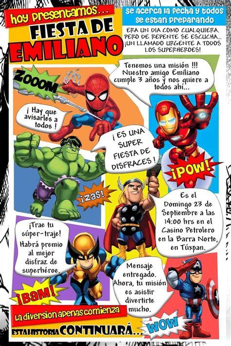 imagenes super originales las 25 mejores ideas sobre invitaciones super heroes en