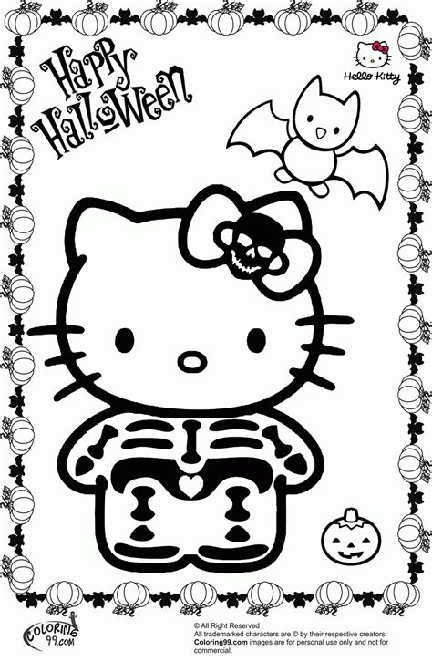 hello kitty coloring pages pdf hello kitty halloween coloring page coloring home