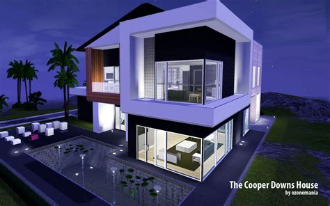 4 Bedroom Housing mod the sims the cooper downs house