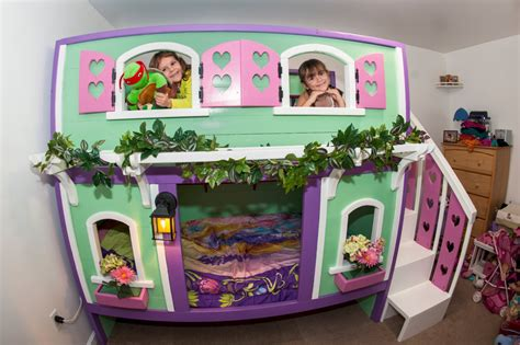 Play House Bunk Beds Playhouse Bunk Bed
