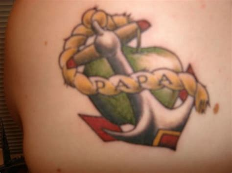 papa anchor tattoo designz tattooshunt com