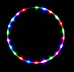 color hoop free shipping color changing led hula hoop by