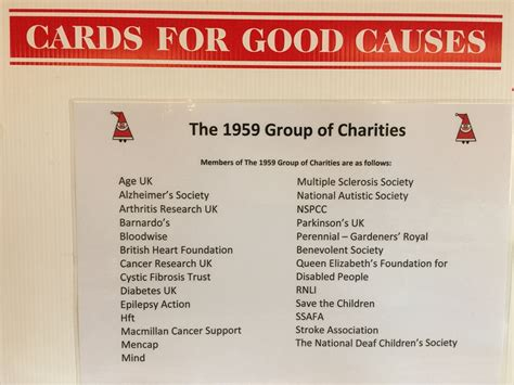 cards charity organizations cards for causes opens at bridge cottage uckfield