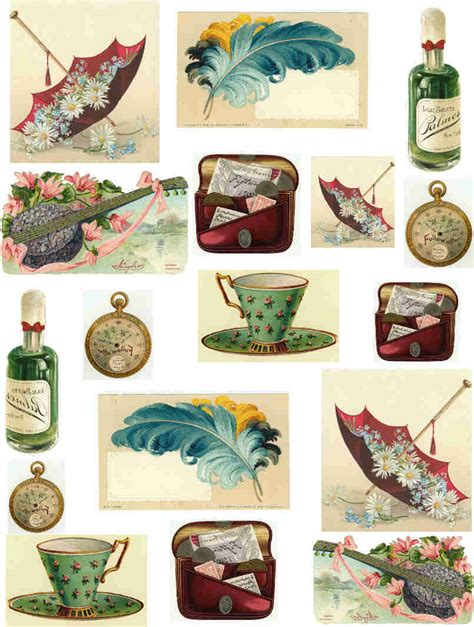 What Is Decoupage Paper - im 225 genes vintage on vintage ads ephemera and