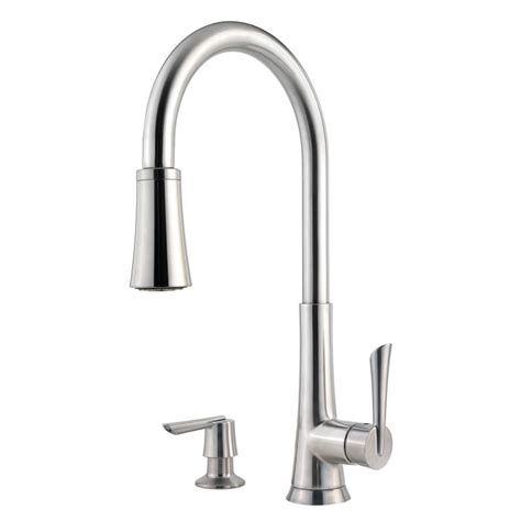 faucet f 529 7mds in stainless steel by pfister