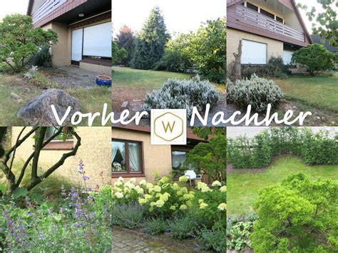 Gartengestaltung Vorher Nachher by Vorher Nachher Special Wiechmann Gartengestaltung