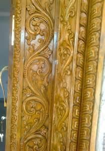 Door Frame Carving Designs by Sri Devi Gayathri Wood Carving Works Udupi Sri Laxmi