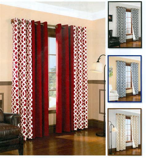 trellis drapes trellis grommet panels thermalogic