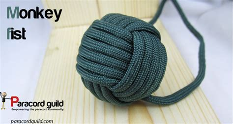 How to tie a paracord monkey fist knot   Paracord guild