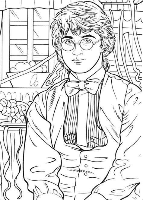 Coloring Page Harry Potter by Harry Potter Coloring Pages 360coloringpages