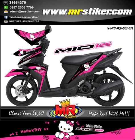 Stiker Striping List Motor Mio M3 Hello mio m3 hello stiker motor striping motor suka