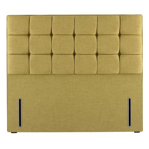 hypnos grace contemporary button upholstered headboard