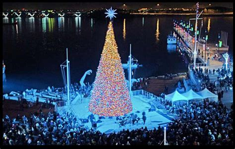 national harbor tree lighting national harbor tree