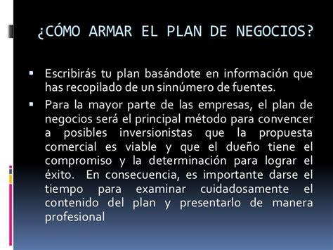 el plan de tu 8478087524 tu primer plan de negocios