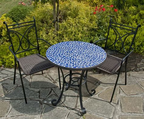 mosaic patio table and chairs faro 70cm glass mosaic garden table 163 104 99