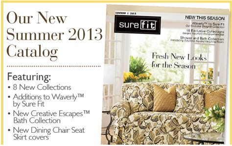 sure fit slipcovers catalog sure fit slipcovers april 2013