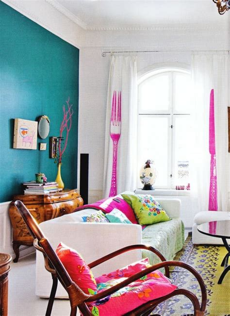 Bright Colors For Living Room | 111 bright and colorful living room design ideas digsdigs