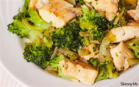 carbohydrates in broccoli one skillet chicken and broccoli