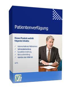 Vorlagen Patientenverf Gung Muster vertrag vorlage digitaldrucke de 17 vollmachten