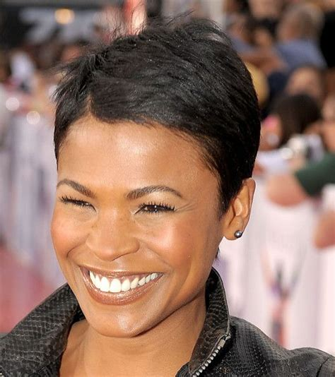 how to style hair like nia long nia long pixie pinterest face hair gossip news and