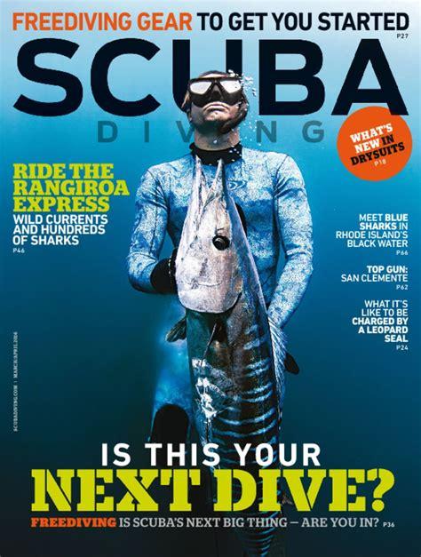 scuba dive magazine scuba diving magazine take a dive discountmags