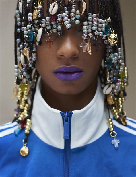 beaded braid hairstyles ecstasy models tomboybklyn beaded beauty fashion