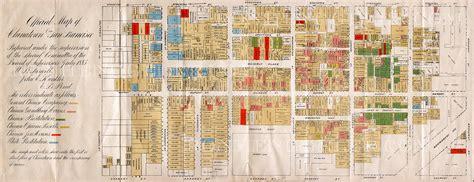 san francisco map of chinatown chinatown 1885