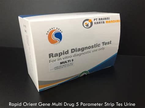 rapid orient gene multi drug  parameter strip tes urine