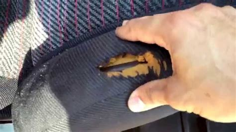 repair torn upholstery fabric fix your ripped crx seat vlog 1 youtube