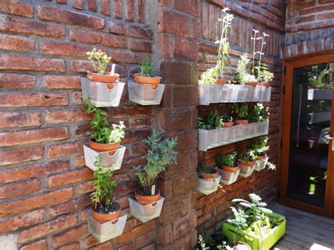 15 Hanging Herb Garden Designs Ideas Design Trends Hanging Wall Garden Design