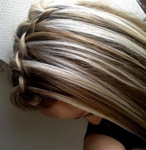 blonde hair with brown highlights pictures brown blonde highlights long hairstyles how to