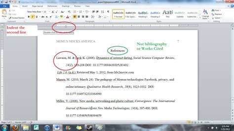 Apa Format 2015 Exle Of Apa Annotated Bibliography Title Page