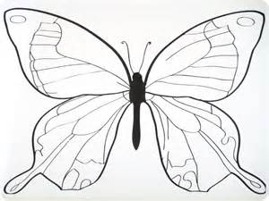 Butterfly Key Template by Butterfly Templates To Print Coloring Home