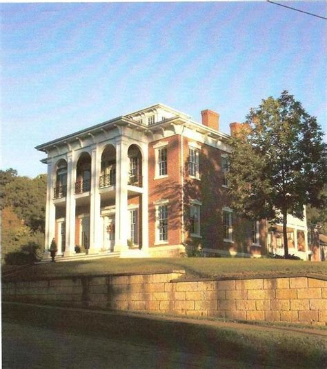greek revival architecture in illinois 1852 greek revival in galena illinois oldhouses com