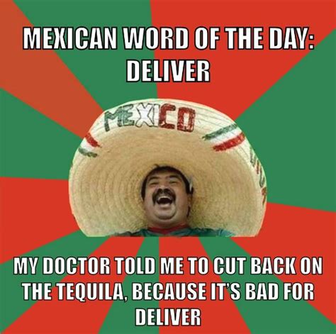 Funny Memes Of The Day - mexican word of the day funny memes and jokes