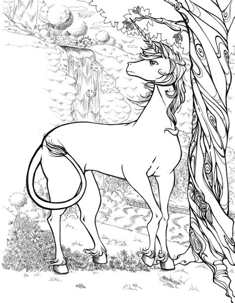 unicorn coloring book for adults realistic unicorn coloring pages az coloring pages