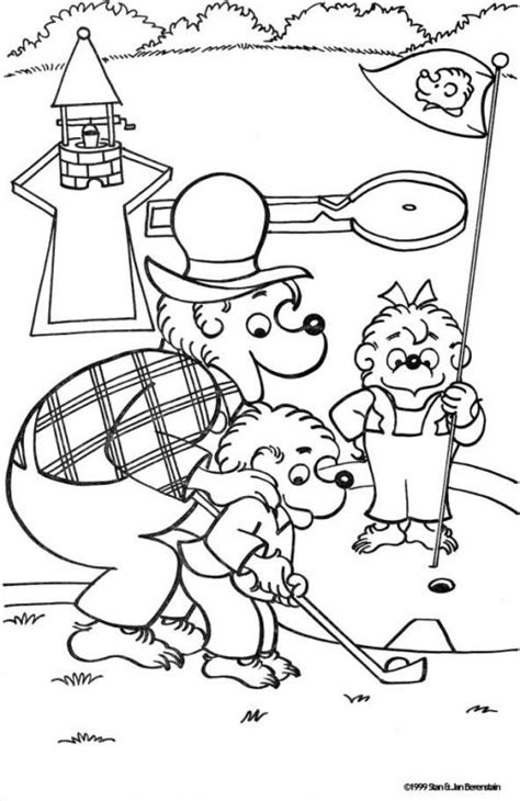 Berenstain Bears Coloring Pages Coloringpagesabc Com Berenstain Bears Coloring Page
