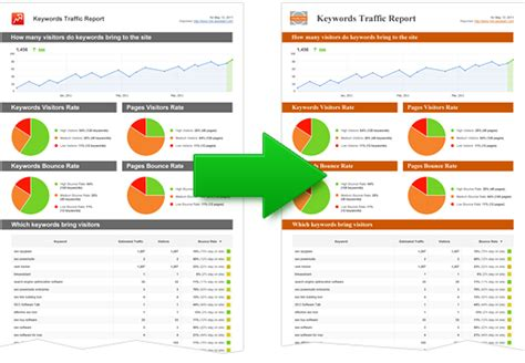 Website Reports Templates Monthly Seo Report Template 3 Professional And High
