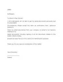 authorization letter get diploma how to make a resume