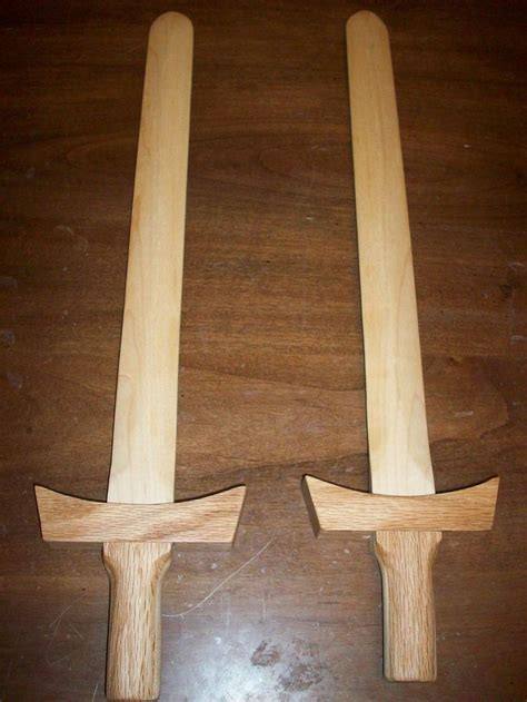 making  wooden sword putting