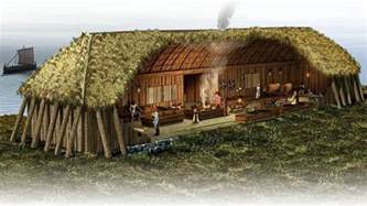 why did vikings burn and bury their longhouses ancient