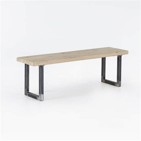 u bench reclaimed u base bench heyl interiors