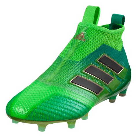 green football shoes adidas ace 17 purecontrol fg soccer cleat solar green