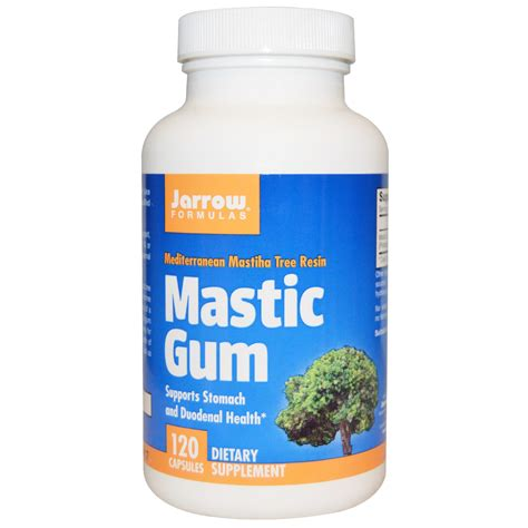 creatine gum jarrow mastic gum 120 caps 2 caps per serve 1000mg
