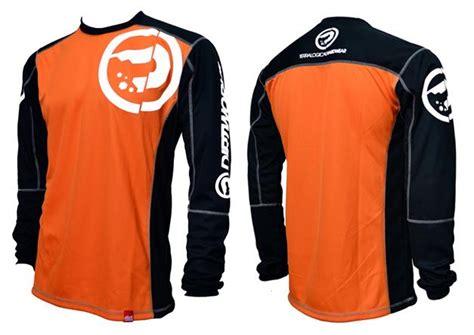 Baju Pilot Surabaya jual jersey sepeda baju sepeda kaos sepeda dirtworks dirtpilot orange hitam jual baju