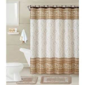 Complete Bathroom Decor Shower Curtain Set 17 Pc Complete Bathroom Decor Mat Rug