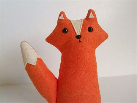 Handmade Plush - 1000 images about felt fox wolf on