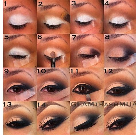 video sexy smokey eyes step by step musely